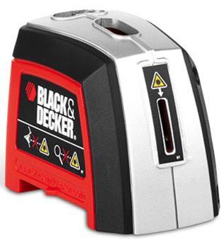 Black & Decker Laser Wasserwaage inkl. Batterien und Transporttasche für 15,94€