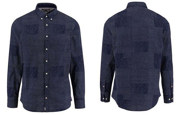 Tommy Hilfiger Printed Patchwork Herren Hemd für 43,87€ (statt 50€)