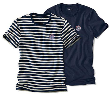 4er Pack Herren T Shirts bei Tchibo für 20,40€ (statt 30€)