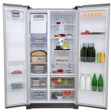 Samsung RS7568BHCSP Side-by-Side Kühlschrank mit Wasserspender A++ ...