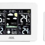 ADE WS 1502 Funk-Wetterstation mit Außensensor und Farbdisplay für 24,99€ (statt 55€)