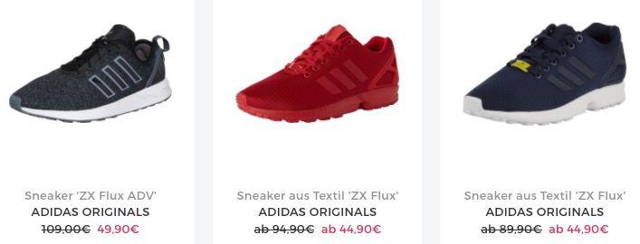 Schnell? adidas ZX Flux Sneaker ab 38,17€ (statt 50€)