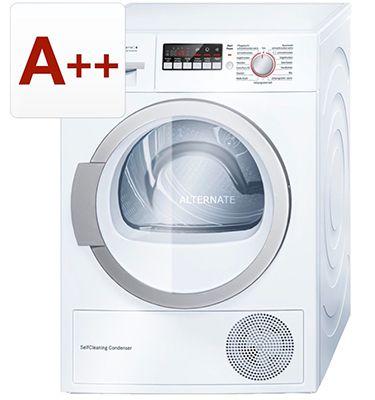 Bosch WTW86271 Wärmepumpen Kondensationstrockner mit 8kg & A++ für 459,50€ (statt 506€)