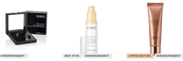 KIKO Kosmetics Sale mit bis  70% + VSK frei + gratis Nagellack