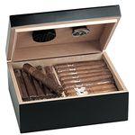 Ausverkauft! Egoist JK00180 Holz Humidor Box mit Hygrometer für ca. 40 Zigarren für 25,49€ (statt 68€)