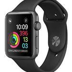 Apple Watch Series 1 42mm Aluminiumgehäuse mit Sportarmband für 149,90€ (statt 256€)