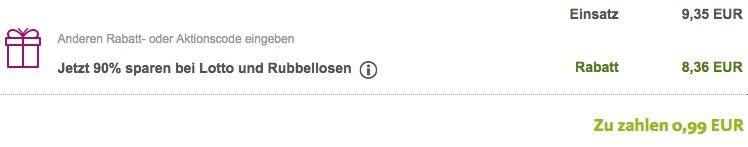Bildschirmfoto 2017 02 07 um 10.19.23 1 Lotto Tipp (8 Mio. Jackpot) + 35 Rubbellose für 0,99€   nur Neukunden