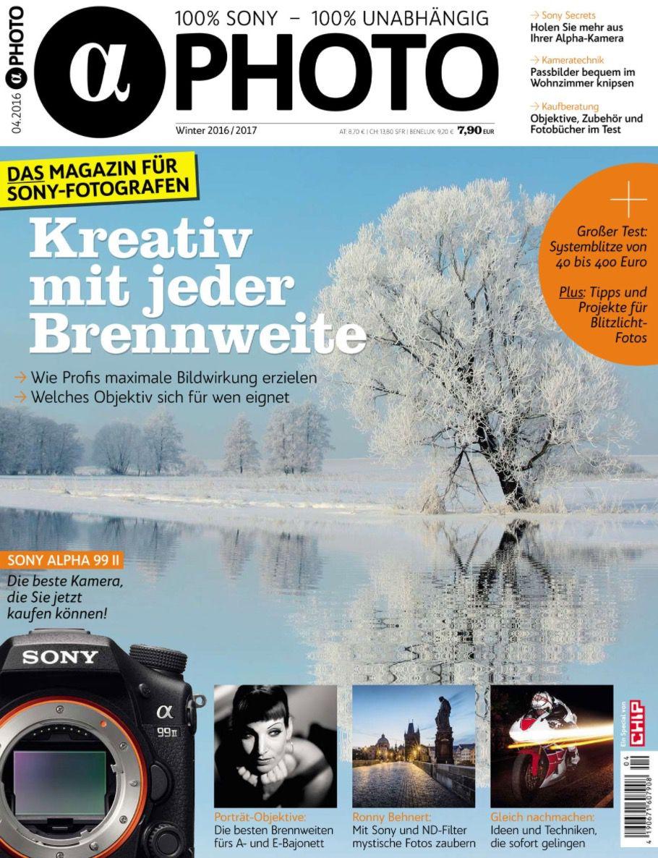 4 Ausgaben Alpha Photo für 29,90€ + gratis Kapako K 30 Fototasche (Wert 60€)