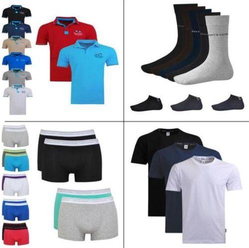 Pierre Cardin Bundle für je 11,95€   Poloshirt, 12er Pack Socken, 2 Shirts oder 4er Pack Boxershorts
