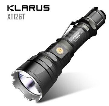 Klarus XT12GT Tactical LED Taschenlampe für 51,43€ (statt 100€)