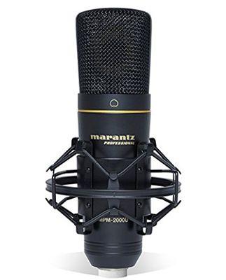 Schnell! Marantz Professional MPM2000U   Professionelles USB Kondensatormikrofon für 32,40€ (statt 99€)