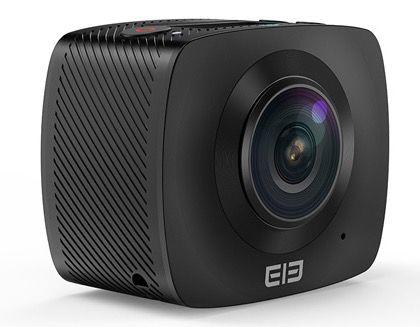 Elephone Elecam 360 Grad Action Cam mit 2 Linsen für 92,13€ (statt 122€)