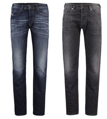 Diesel Buster 0669F / 0853V Tapered Fit Herren Jeans für 79,90€ (statt 90€)