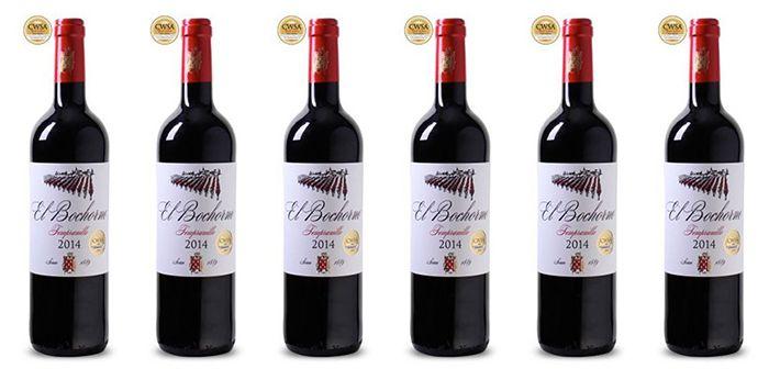 6 Flaschen El Bochorno Rioja Rotwein für 28,89€   mit Gold prämiert!