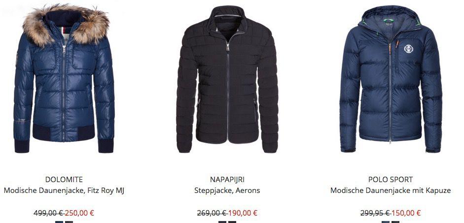 HIRMER Winter Sale mit bis zu  50% (Günstige Marken Jacken uvm.)