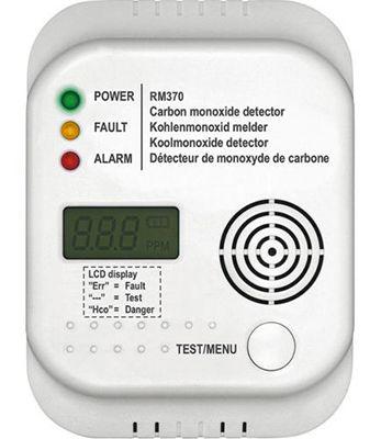 Smartwares RM370 Kohlenmonoxid Melder für 14€ (statt 21€)