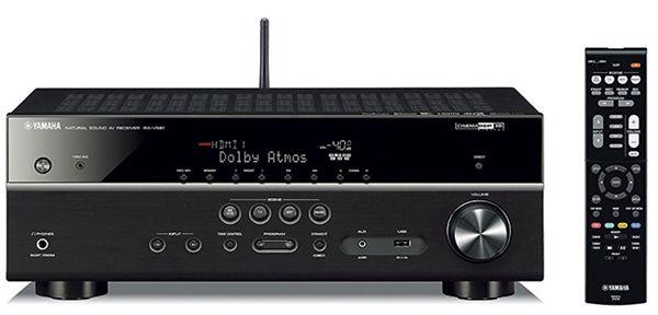 Yamaha RX V581   7.1 AV Receiver mit WLAN für 357,48€ (statt 428€)