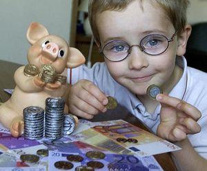 Hamstern für die Mäuse: Kinderkonten mit und ohne Sparvertrag