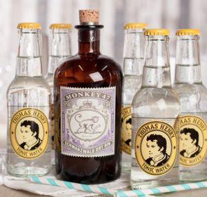 2 x Monkey 47 Gin (je 500ml) + 10 x Thomas Henry Tonic Water für 62,73€ (statt 76€)