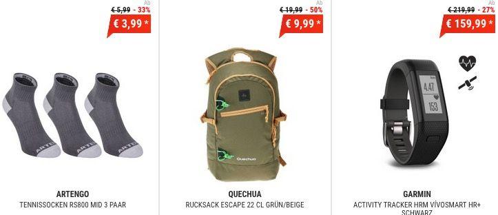 Bildschirmfoto 2017 02 14 um 08.13.25 Decathlon 80% Sale   z.B. Rucksack Escape QUECHUA 9,99€