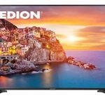 Medion P18088 – 65 Zoll UHD Fernseher mit DVB-T2 für 699€ (statt 799€)