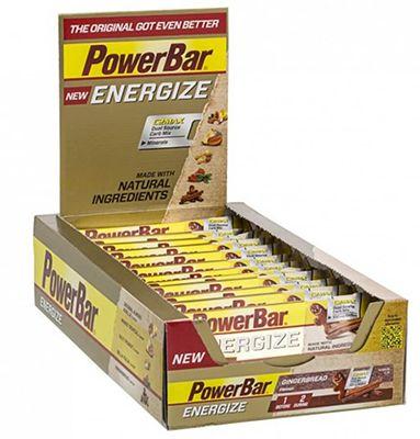 25er Pack Energize Bar Gingerbread Energieriegel für 15,99€ (statt 32€)   MHD 31.3.17