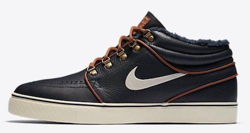 Nike Sb Zoom Stefan Janoski Mid Premium Sneaker aus Leder ab 49,99€ (statt 70€)