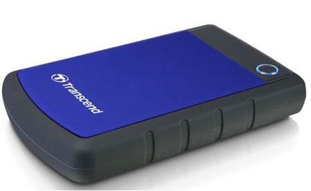 Transcend StoreJet H3B   externe 2,5 Festplatte mit 1TB für 49,90€ (statt 68€)