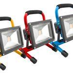 Ninetec 20W LED Akku Arbeitsleuchte für 29,99€