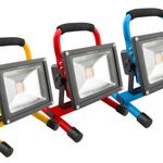 Ninetec 20W LED Akku Arbeitsleuchte für 24,99€ (statt 35€)