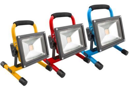 Ninetec 20W LED Akku Arbeitsleuchte für 27,77€ (statt 45€)