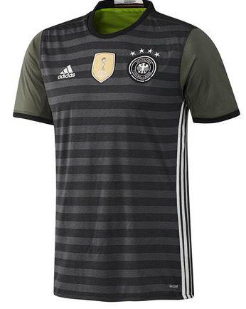 adidas Deutschland Away Trikot EM 2016 für 27,87€ (statt 37€)