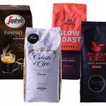 4kg Kaffeebohnen verschiedenster Hersteller im Festtagspaket für 37,94€ (statt 53€)