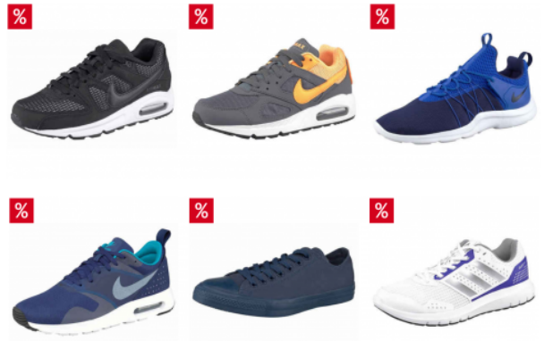 Otto Sneaker Sale   bis zu 50% auf Nike, Adidas und Co.