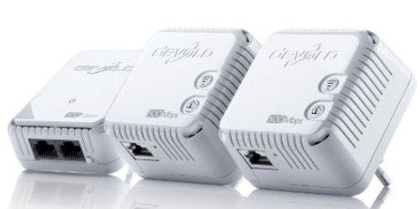devolo dLAN 500 WiFi Network Kit mit 3 Adapter für 99€ (statt 122€)