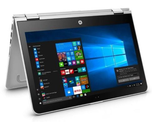 HP Pavilion x360 13 u102ng   2in1 Touch Notebook mit Full HD + Win 10 für 519,26€ (statt 604€)