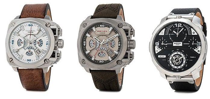 Diesel Uhren & Schmuck bei brands4friends   z.B. Diesel Rollcage Uhr mit Lederarmband für 97€ (statt 123€)