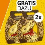 2 gratis Lindt Goldhasen (je 500g) im Lindt Chocoladen Club für Neukunden (statt 40€)