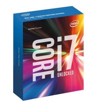 Intel i7 7700K Kaby Lake Boxed CPU für 275,29€ (statt 305€)