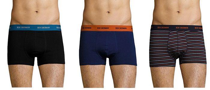 Ben Sherman Homewear, Boxershorts & Socken bei vente privee   z.B. 3er Pack Dominic Boxershorts ab 11,99€ (statt 20€)