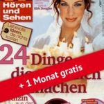 Knaller! TV Hören und Sehen 13 Monate für effektiv 1,80€ (statt 121€)