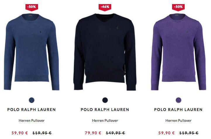 Bildschirmfoto 2017 02 23 um 10.19.33 Polo Ralph Lauren Pullover ab 48€ bei engelhorn