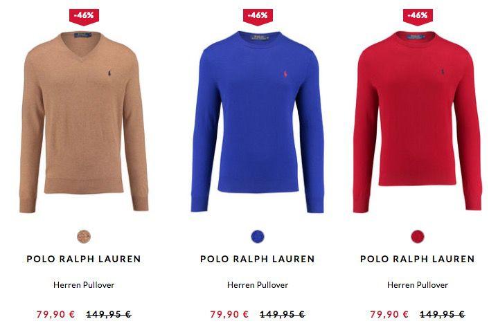 Bildschirmfoto 2017 02 23 um 10.19.37 Polo Ralph Lauren Pullover ab 48€ bei engelhorn