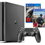 Playstation 4 slim 1TB + Watch Dogs 1 & 2 + UEFA Euro 2016 für 288,88€ (statt 325€)