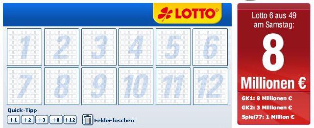 Bildschirmfoto 2017 02 23 um 12.09.35 Lottobay 5€ Gutschein mit nur 5€ MBW (8 Mio. Jackpot!)   Nur für Neukunden