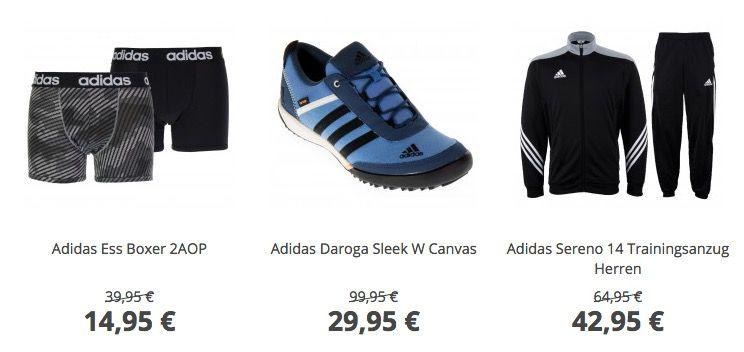Sport Sale bei Plutosport   z.B. adidas Daroga Sleek Sneaker für 37€ (statt 49€)