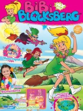 Kinder & Jugendzeitschriften mit Prämien   z.B. Jahresabo Bibi Blocksberg