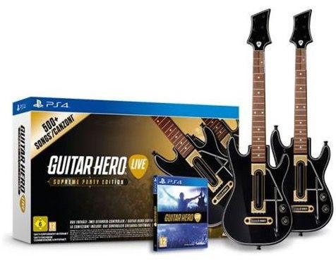 Ausverkauft! Guitar Hero Live Supreme Party Edition mit Gitarre (PS4) für 32,99€ (statt 53€)