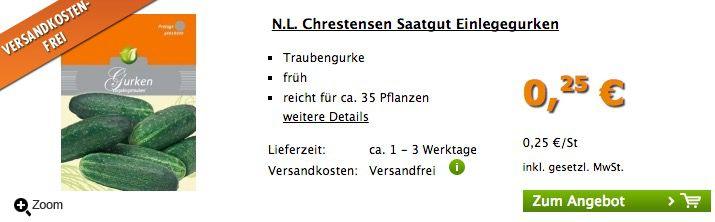 Verschiedenes Saatgut für je 0,25€   keine Versandkosten!