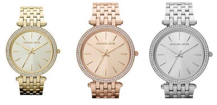 Michael Kors Darci MK3191 Damen Uhr in versch. Farben für je 94,95€ (statt 108€)